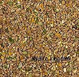 Wildlife Kingdom, cibo per pollame, polli, galline, anatre, oche, altamente energetico, premium, misto mais, piselli