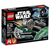 LEGO Star Wars Yoda's Jedi Starfighter 75168 Building Kit (262 Pieces)