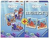 Ravensburger Italy 06871 5 - Alla Ricerca di Dory Multipack: 3 Puzzle e 1 Memory