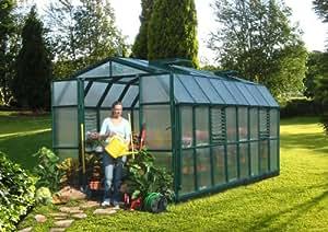 Serre de jardin polycarbonate Rion Cezanne (258x507x251)