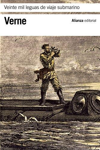 Veinte mil leguas de viaje submarino (El Libro De Bolsillo - Bibliotecas De Autor - Biblioteca Verne) por Jules Verne