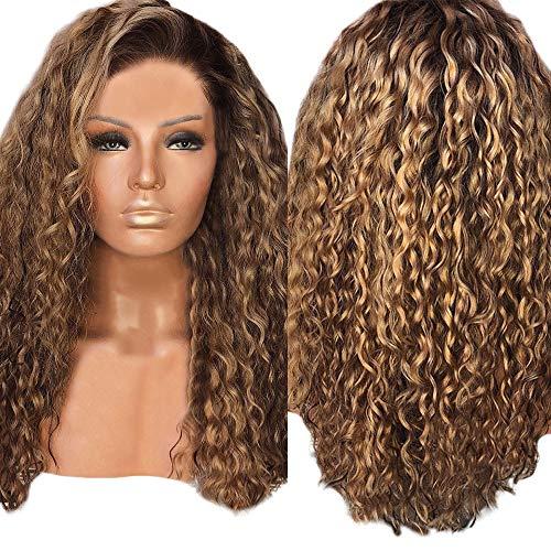 Frauen Mode Afro Lange Verworrenes Lockiges Haar Braun Wellenförmige Perücken Sexy Perücke Party Perücke By Vovotrade (Braun)