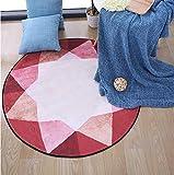 ZiXuan Round Teppich/Einfache Mode Round Teppich/Home High-Density-Teppich kann gewaschen Werden (größe : Diameter 120cm)