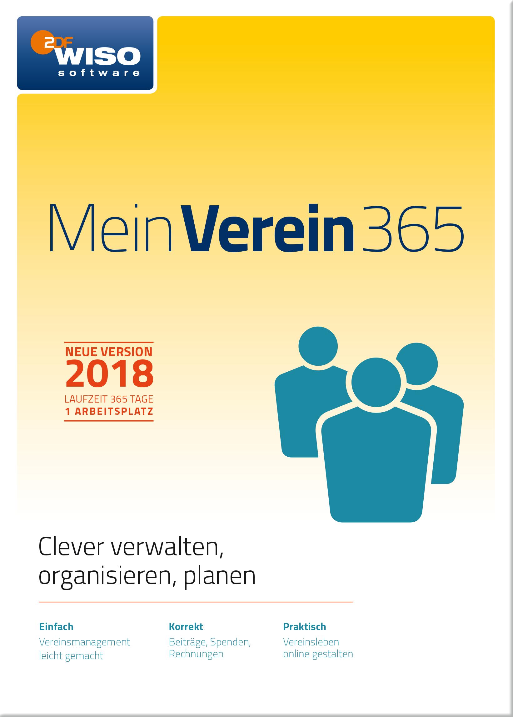 WISO Mein Verein 365 (2018) [Online Code]