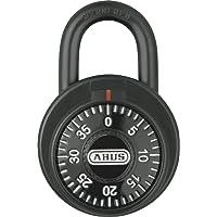 Abus 47670 KC507 Zahlenschloss, schwarz, 50 mm