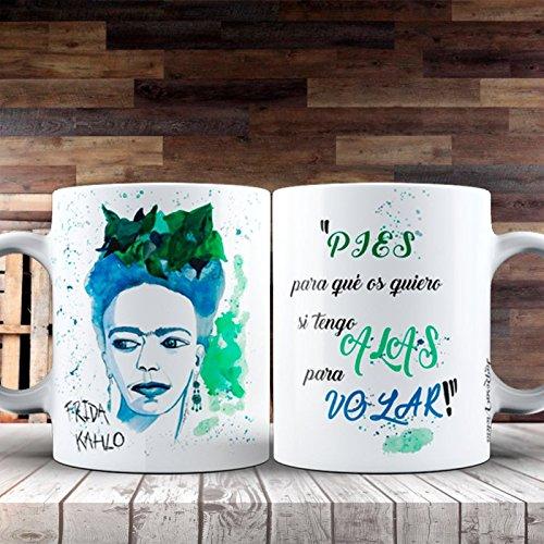 TAZATACHAN Taza Feminista Frida Kahlo
