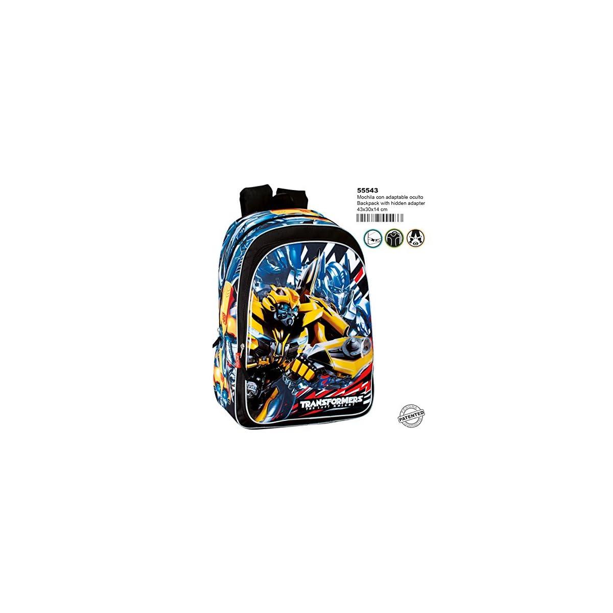 61%2BAVfKquRL. SS1200  - Transformers Mochila Grande Adaptable a Carro