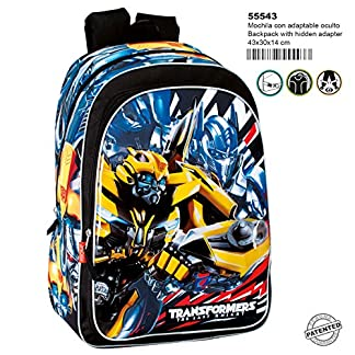 Transformers Mochila Grande Adaptable a Carro
