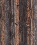 Blooming Wand Faux Vintage Barnwood Papiertapete Holz Rollen Holz Panel Tapete 165,3 Für Home Dekorationen, 20,8 in32.8 FT = 57² FT, multicolor
