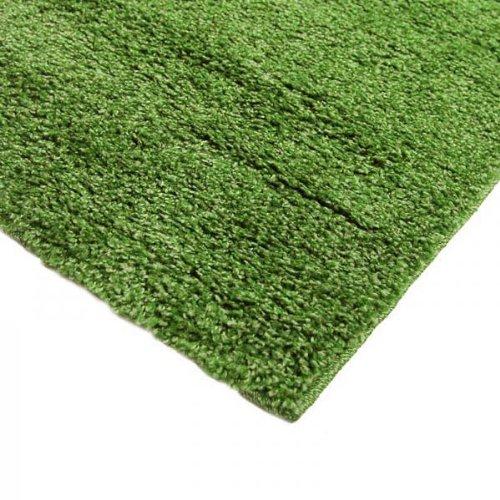 Monbeautapis Pflaume 122171Casa Shaggy Teppich Polypropylen Heat Set 170x 120cm, grün, 170x120x15 cm -