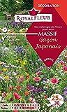 Royalfleur PFRF08351 Graines de Mélange de Fleurs mon Massif Gazon Japonais 25 m²