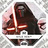 Rewe STAR WARS Cosmic Shells Normal 32 Kylo Ren + WIZUALS STICKER