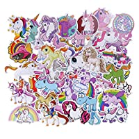 50PCS Unicorn Stickers for Kids Party Bag Fillers