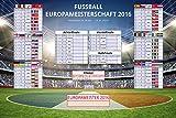 Fußball - Poster - EM Spielplan 2016