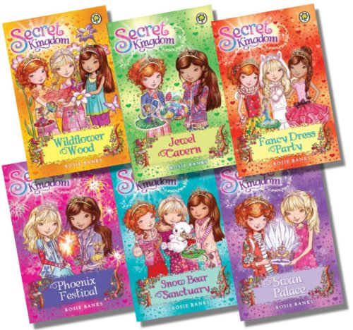 Secret Kingdom Series 3 Collection - 6 Books, RRP £29.94 (Wildflower Wood; Swan Palace; Snow Bear Sanctuary; Phoenix Festival; Fancy Dress Party; Jewel Cavern)