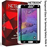 NETBOON® Premium Tempered Glass Screen Guard for Samsung Galaxy Note 4 with 9H