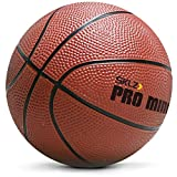 SKLZ Basketball Pro Mini Hoop Ball, Orange, One Size, HP04-BALL