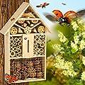 TecTake XXL Insektenhotel Insektenhaus 48 x 31 x 10cm von TecTake bei Du und dein Garten
