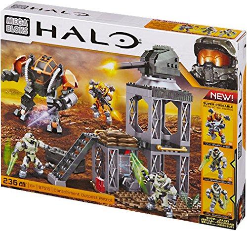 Mega Bloks Halo Exclusive Set #97515 Containment Outpost Patrol (Bloks Containment Mega Halo)