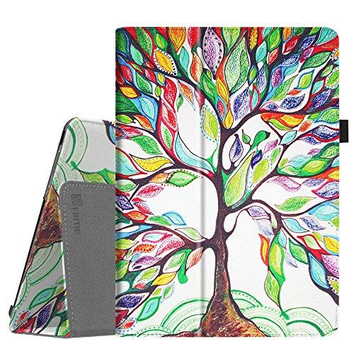 Fintie Hülle Case für Huawei MediaPad M3 Lite 10 - Ultra Schlank Folio Kunstleder Schutzhülle Etui Tasche Case Cover für Huawei MediaPad M3 Lite 10 Tablet-PC, Liebesbaum