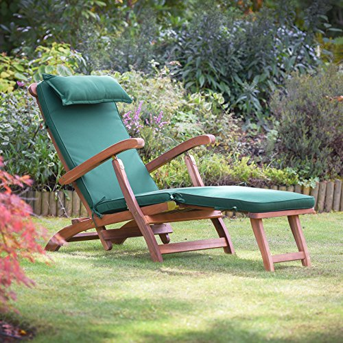 Plant Theatre Reclining Hardwood Steamer Chair - Fully Assembled