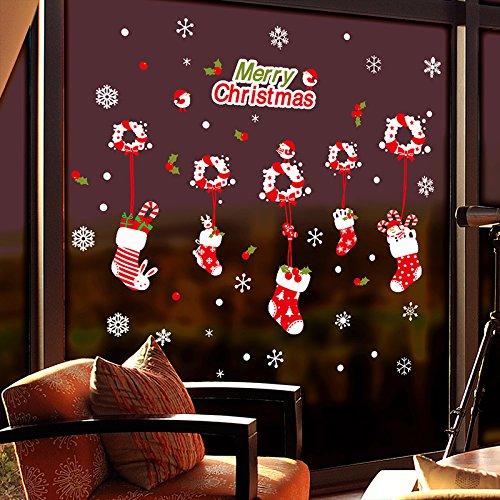 VHVCX Weihnachtskranz Ornament Weihnachtskranz Papier Spitzen Stern Ornament Hängende Weihnachtstürkranz Fenster Aufkleber 3D Stereo, Schneemann Kleiner Rattan Kreis