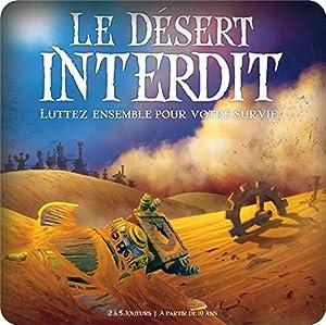 Cocktail Games Le désert interdit Niños Estrategia - Juego de Tablero (Estrategia, Niños, 45 min, Niño/niña, 10 año(s), 49 Pieza(s))