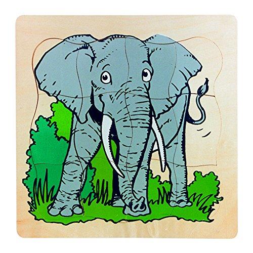 Forchtenberger - 2052943 - Evolución Puzzle - Elefante - 30 Piezas