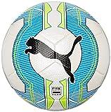 PUMA Fußball Evopower 3.3 Tournament, White/Atomic Blue/safety Yellow, 5, 082554 01