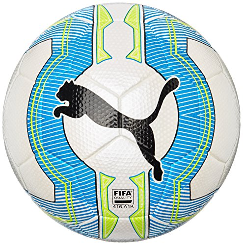 Puma Fußball evoPOWER 3.3 Tournament FIFA Inspected, white/atomic blue/safety yellow, 3, 082554 01