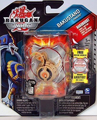 Bakugan - Gundalian Invaders - Bakuboost - D2 Bakustand Fangoid (Tan)