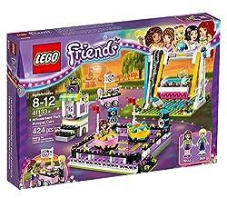 Lego Friends Amusement Park: Bumper Cars–Construction Games (Multicolour, 8-12Years), 424Pieces, For Girls