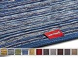 Elektrischer Heizteppich / Heizmatte für warme Füße, 100 Watt, 50 x 75 cm (Blue, Chenil)