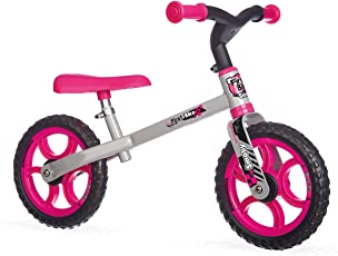 Smoby 770201 Laufrad First Bike, rosa