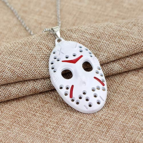 ce Schmuck Freitag Die 13. Halskette Hockey Killer Jason Maske Pendant Necklace Men Boy Gift Collier ()