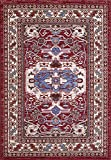 """A2Z Rug Traditional Qashqai 5578 Stylish Collection Area Rugs, Red 200x290 cm - 6'6x9'5"""" ft"""
