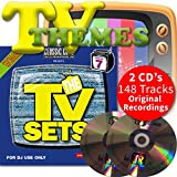 Classic Cuts Presents TV Sets Vol 13 & 14 Double CD - 70s 80s 90s & 00s Themes