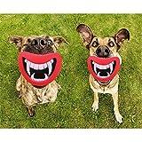 Lustig Hundespielzeug Lippen Kauspielzeug fuer Hunde Quietschspielzeug