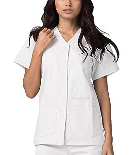 Ref.702 L Abbigliamento di Lavoro Signora Maniche Corte Uniforme Clinica Ospedale Pulizia Veterinario IGIENE OSPITALIT/Á Apple Green MISEMIYA