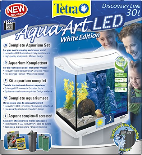 Tetra AquaArt LED Aquarium-Komplett-Set, 30 L, weiß - 2