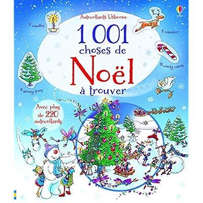 1 001 choses de Noël à trouver - Autocollants Usborne