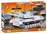 Cobi 3009 - Leopard 1, Konstruktionsspielzeug, grau