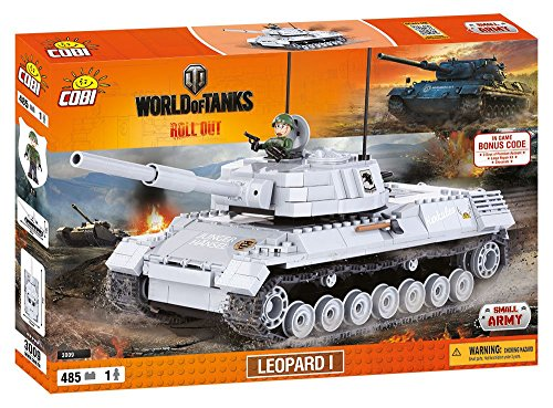 COBI WORLD OF TANKS - 3009 - LEOPARD 1