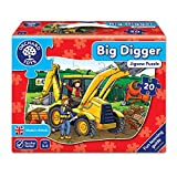 Orchard Toys Big Digger Floor Puzzle