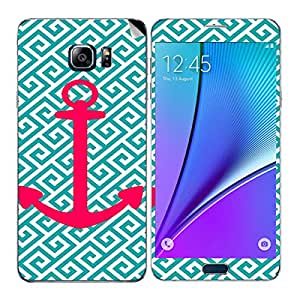 Theskinmantra Pink Anchor Samsung Galaxy Note 5 mobile skin