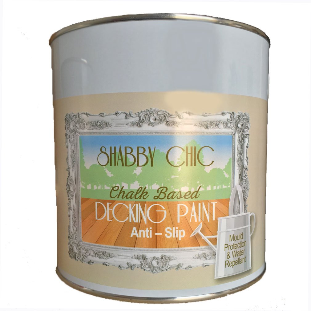 Shabby chic decking paint 5 litre slate grey amazon diy shabby chic decking paint 5 litre slate grey amazon diy tools baanklon Image collections