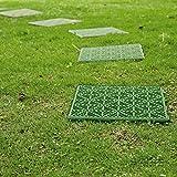 Mattonella Parkland® in plastica anti-scivolo da giardino, per sentiero o patio con pavimentazione per esterni, da 30cm quadrati