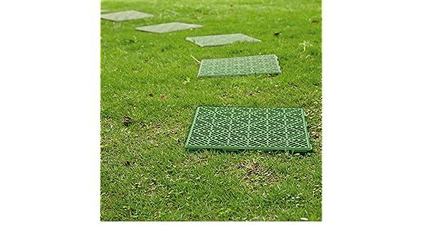 Mattonella parkland in plastica anti scivolo da giardino per