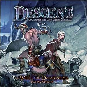 Fantasy Flight Games VA28 - Descent: Well of Darkness Expansion, englische Ausgabe