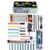 #8: Quad Store(TM) - Basic Electronics Kit for Arduino, Raspberry Pi with breadboard, capacitor, resistor, led, switch